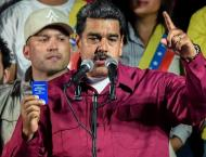 Venezuela's Maduro being sworn in for second term Thursday