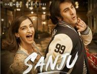 Sanju's fresh poster is a still from his crazy love life