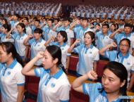 2,000 volunteers ready for upcoming SCO summit in Qingdao