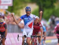 Cycling: Giro d'Italia stage 20 results