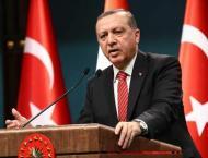 Turkish President Recep Tayyip Erdogan  asks Turks to help prop u ..