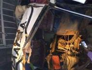 Up to 48 killed as Uganda bus rams into tractor and truck