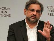 Prime Minister Shahid Khaqan Abbasi witnesses signing of Deed of  ..