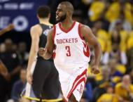 Paul out of Rockets line-up for Warriors decider