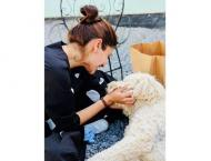 Animal lover Anushka Sharma shares adorable pictures with pet dog