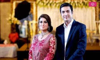 Anchor couple Iqrar ul Hassan and Farah Yousaf celebrate 6th anni ..