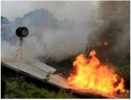 Training Plane Crashes in Lahore, No Casualties Reported
