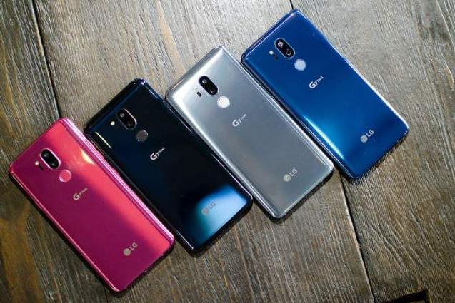 LG Electronics Sets Price Of G7 ThinQ Smartphone - UrduPoint