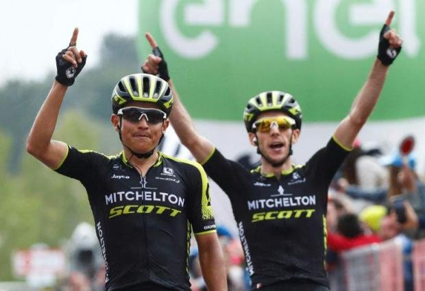 Yates in pink as Chaves wins sixth stage on Mount Etna Froome eighth