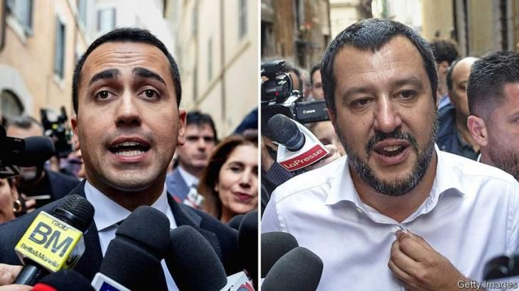 No exit from euro in Italy populist government programme