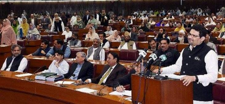 National Assembly passes Rs5.9 trillion budget, amid opposition reservations