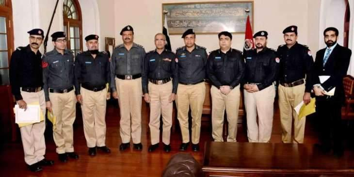 18 policemen awarded appraisal certificates in Lahore