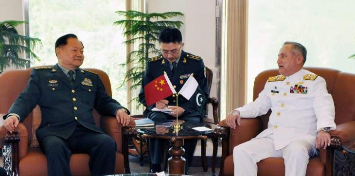 Vice Chairman Of Chinese Central Military Commission Visits NHQ