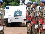 Seven Pakistani peacekeepers honoured with UN medals posthumously ..