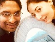 Sharmila Faruqi shares first picture with newborn
