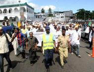 Comoros opposition rallies against referendum