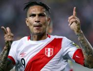 Cleared Guerrero heads Peru's World Cup squad