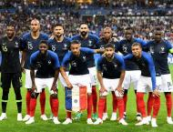 France confirm unchanged World Cup squad
