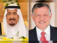 Saudi Crown Prince, Jordanian King discuss regional developments