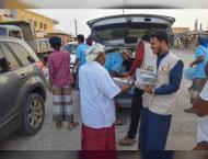 ERC continues distributing iftar meals in Hadramaut, Yemen