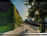 """""""دبي للعقارات""""  تنفذ أكبر """"جدار .."""