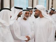 H.H. Sheikh Hamdan bin Zayed Al Nahyan receive Ramadan well-wishe ..