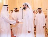 Fujairah Ruler receives Ramadan well-wishers