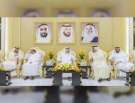 Ajman Ruler, CP receive Ramadan wel-wishers