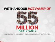 Jazz Reaches another Milestone with 55 Million Subscribers