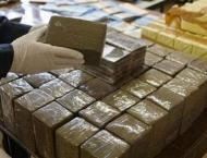 Italian police seize 10 tonnes of hashish on high seas
