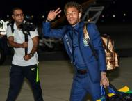 Neymar and Brazil arrive in Russia with World Cup clock ticking d ..