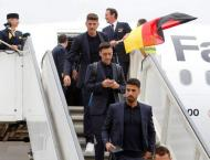 Defending champions Germany arrive in Russia for World Cup