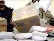 Drug pusher arrested, narcotics seized in Sargodha