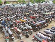 83 motorcycles impounded in Muzaffargarh