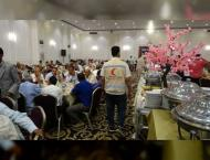 ERC holds mass iftar at Grand Mosque in Abyan, Yemen