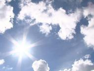 Hot, dry weather with chances of dust raising winds