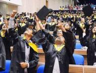 Five Pakistani students graduate from South Asian University