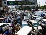 Three dozen drivers arrested on rash driving in Faisalabad