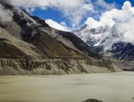 Climate change induced disasters caused by Glacial lakes