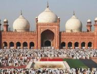 Main Eid congregation to be held at Badshahi Mosque