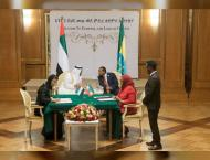 Mohamed bin Zayed, Ethiopian PM attends signing of MOUs