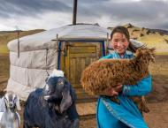 Charity plans to lift 3,500 households out of poverty in Mongolia ..