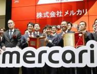 Japan start-up Mercari soars in first day of Tokyo trade