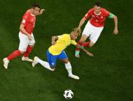 Under-cooked Neymar hobbled by Swiss as Brazil stumble at World C ..