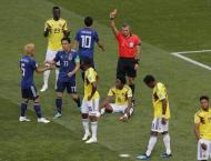Colombia's Carlos Sanchez gets first red card of World Cup