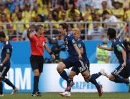 Japan beat Colombia 2-1 in World Cup Group H opener