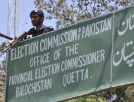Scrutiny process of nominations completed in Balochistan