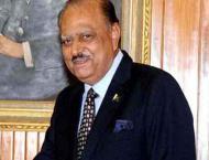 President Mamnoon Hussain condoles demise of Muzaffar Ahmed Hasmi ..