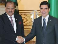 President Mamnoon Hussain and President Gurbanguli Berdimuhamedow ..
