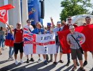 World Cup fans soak up history in Russia's Volgograd